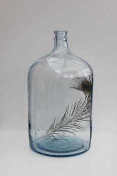 Vintage carboy / water jug by vintagewall on Etsy, $55.00