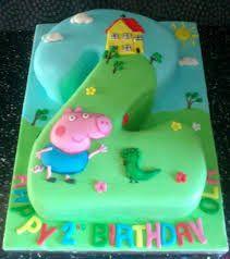 Image result for george pig cake                                                                                                                                                     More