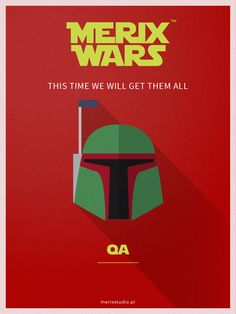 Our recruitment company based on #starwars Join our team as #BobaFett http://www.merixstudio.com/wars/