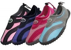Easy USA Womens Aqua Wave Water Shoes >>> See this great product.