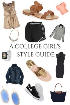 Tips for picking the perfect outfit for every campus event! Go Back to College in style!