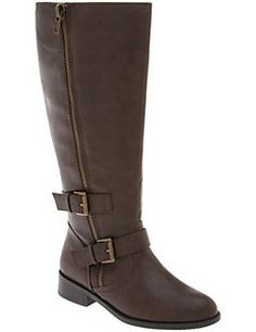 Lane Bryant boots.. Extended calf size. So comfy and cute with dresses!