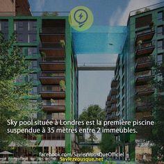 Sky pool à Londres