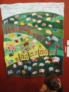 Mary Had a Little Lamb    2011 Tokyo International Quilt Festival