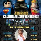lego batman invitations with photo lego birthday invitations lego Welcome to Best Birthday Party This is a s Lego Batman Movie Birthday invitation will be a perfect addition to celebrate Lego Batman Invitations, Lego Birthday Invitations, Custom Invitations, Lego Batman Party, Superhero Birthday Party, Chalkboard Invitation, Invite, How To Memorize Things