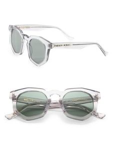 a39c9fe3907 Grey Ant Composite Round Sunglasses - Green - Size No Size