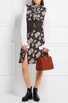 Prada - Leather Chelsea Boots - Black - IT36.5