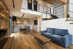 Modern Home in South Korea Loft Interior Design, Interior Styling, Interior Decorating, Japan Interior, Loft Interiors, Loft House, Brown Wood, Modern House Design, My Room