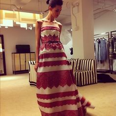 Gorgeous gowns at Carolina Herrera #resort2013 (Taken with Instagram)