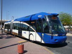 BRT Vegas (european bus Irisbus Civis)