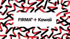 Firma+Kawaii by Arctica , via Behance