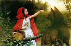 LITTLE RED RIDING HOOD BY SEYMOUR JOSEPH GUY