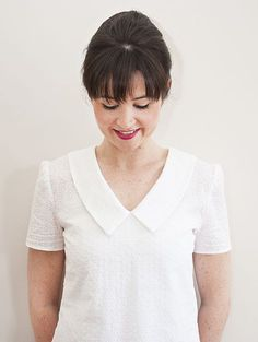 NEW Susie Blouse Sewing Pattern from Sew Over It: http://shop.sewoverit.co.uk/products/susie-blouse-pdf-sewing-pattern