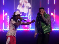 DRAKE @ The Sleep Pavilion 2012 with a very special guest appearance by Weezy F Baby! :)