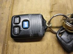 Repair a broken key attachment on a remote entry keyfob