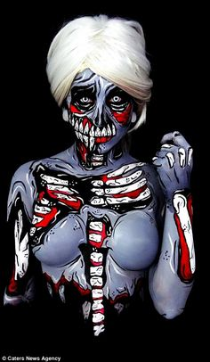 This Makeup Artist Will Inspire You To Get Body Painted For Halloween - Bored!