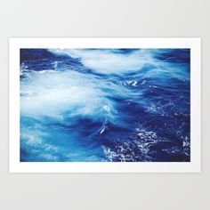 Deep Blue Ocean - $15