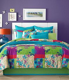 J by J Queen Yoko Apple Comforter Set #Dillards