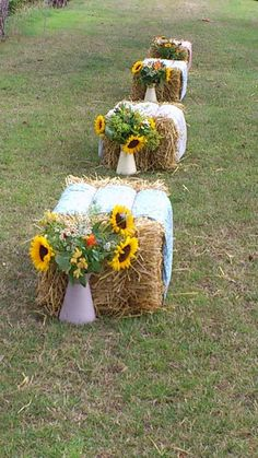 Teepee wedding tipi haybales