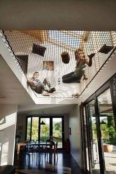 Hammock Nets in Houses