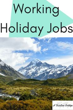 Working Holiday Jobs / Working holiday resources and advice from someone who has. Holiday Jobs, Holiday Fun, Holiday Ideas, Visit Australia, Australia Travel, Holidays Around The World, Around The Worlds, Canada Holiday, Budget Holidays