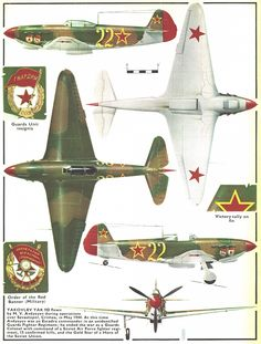 Yak 9, saw one of these fly this year, impressive planes. Partly because its modeld after the Spitfire.