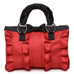 Quite possibley the cutest Disney inspired bag ever. The Minnie Mouse Lola by Harveys.