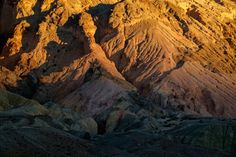 Day 265  Last light on Artist's Palette in Death Valley National Park