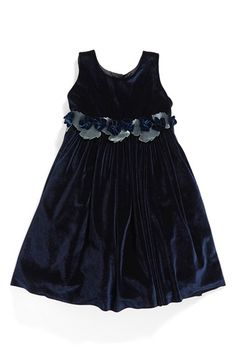 Isabel Garreton Sleeveless Velvet Dress (Toddler Girls, Little Girls & Big Girls) available at #Nordstrom