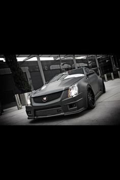 Ohhh the CTS-V Coupe :)  6-speed please!