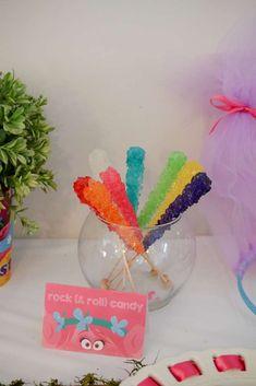 Trolls Birthday Party Ideas   Photo 1 of 17