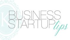 business start-up tips. They mostly apply to photographers, but there's some good advice for any business in there