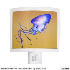 Beautiful Intricate Fun Cool And Unique Jellyfish Nite Light