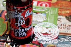Delicious- I enjoyed this beer with my apple crisp! Stone Brewing Co. - 16th Anniversary IPA by NewBrewThursday, via Flickr