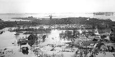 de waternoodsramp was vreselijk voor zeeland om te voorkomen dat dat nog eens gebeurd werden de deltawerken gebouwd