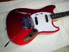 Mustang guitar hollow body