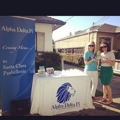 Alpha Delta Pi Comes Home to Santa Clara