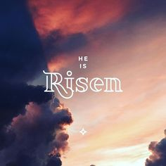 """He is not here, for he has risen, as he said. Come, see the place where he lay."" - Matthew 28:6  Photo credit: @chrisbarbalis  _____  #heisrisen #easter #christ #jesus #redeemer #savior #goodnews #type #font #design #designer #believer #christian #ioweitalltojesushttps://www.instagram.com/p/BhB6PhxHp-E/"