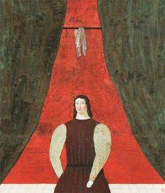 有元利夫 Japanese Painting, Japanese Art, Banana Split, Red Background, Figurative Art, Asian Art, Akira, Renaissance, Paintings