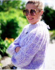 Ganni street style | Tone Damli Aaberge | The Julliard Mohair Open Back Pullover