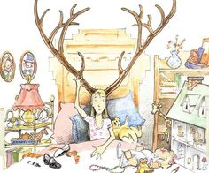 'Imogene's Antlers' by David Small.