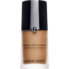 Giorgio Armani Luminous Silk foundation (£35) ❤ liked on Polyvore featuring beauty products, makeup, face makeup, foundation, hydrating foundation, giorgio armani, oil free foundation, moisturizing foundation and giorgio armani foundation