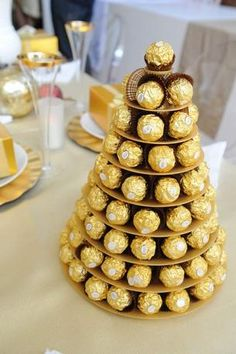 Win Ferrero Rocher ChocolatesExpires: 24 December the ultimate indulgence this festive season with Ferrero Ferrero Rocher Tree, Ferrero Rocher Bouquet, Fererro Rocher, Ferrero Rocher Chocolates, Great Gatsby Party Decorations, 80th Birthday Decorations, Great Gatsby Themed Party, Booze Bouquet, Candy Bouquet
