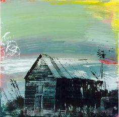 "Saatchi Art Artist Karen Salem; Painting, ""Johnson City No.4"" #art"