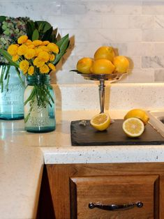 Browse kitchen countertop pictures from HGTV Remodels to see laminate countertop ideas.