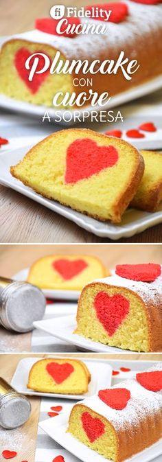 Il plumcake con cuore a sorpresa è un dolce perfetto per San Valentino, per festeggiare con qualcosa di semplice ma molto particolare. Ecco la ricetta