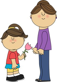 Free Mother's Day clip art from mycutegraphics.com