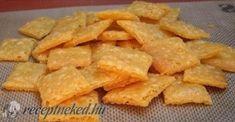 Érdekel a receptje? Kattints a képre! Cheddar, Sweet Potato, Chips, Potatoes, Vegetables, Food, Cheddar Cheese, Potato Chip, Potato