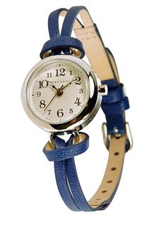 note how strap is looped on watch ....