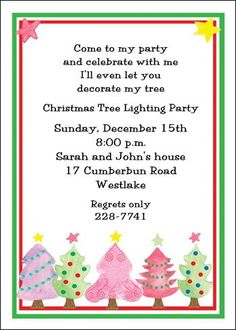 decorative holiday invitation designs for Christmas parties at Cards Shoppe priced as low as 79¢ with larger quantities